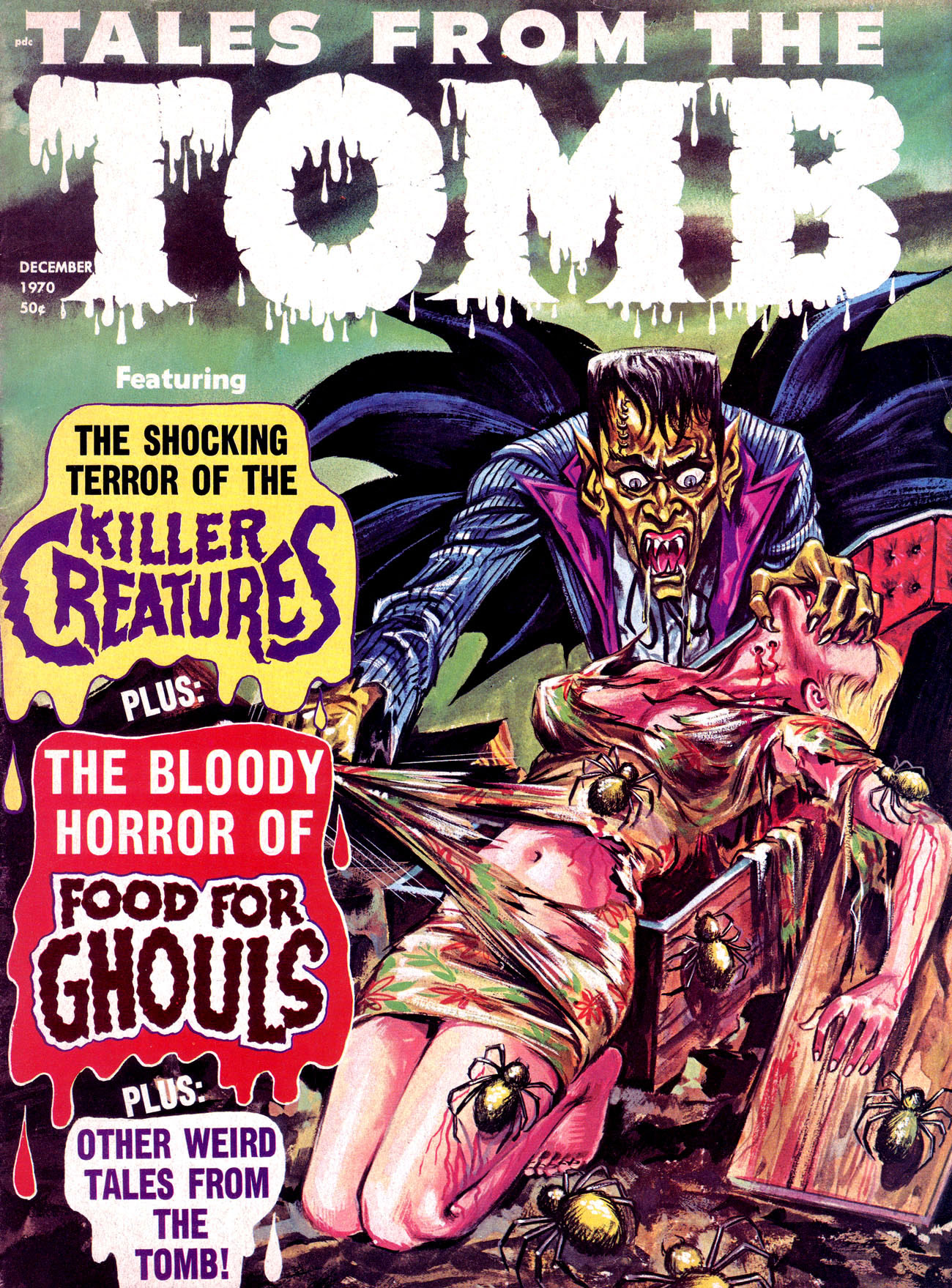 Tales from the Tomb - Vol. 2 #6 (Eerie Publications, 1970)