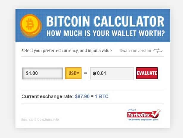 bitcoin value yahoo