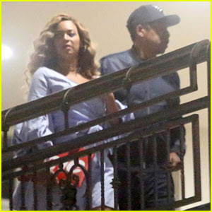 Beyonce & Jay-Z Enjoy Sushi Dinner Date in West Hollywood