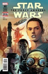 Image result for The Force Awakens #3 comic wedig