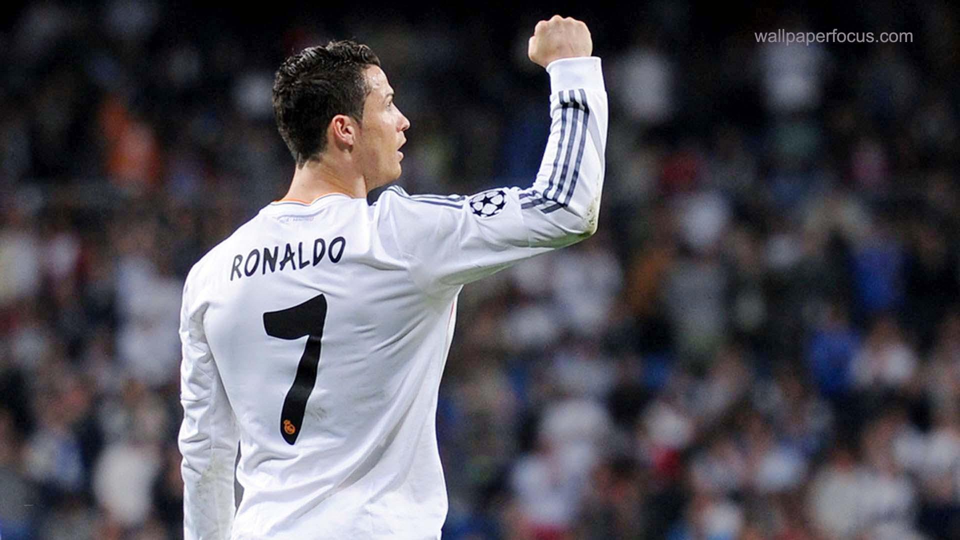Cristiano Ronaldo Real Madrid Wallpaper Pixelstalk Intense