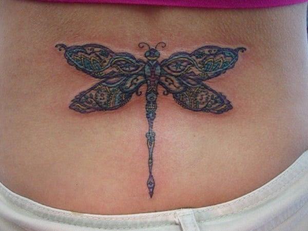 75 desenhos de tatuagem de libélula bonito e sexy 27 por Bryan