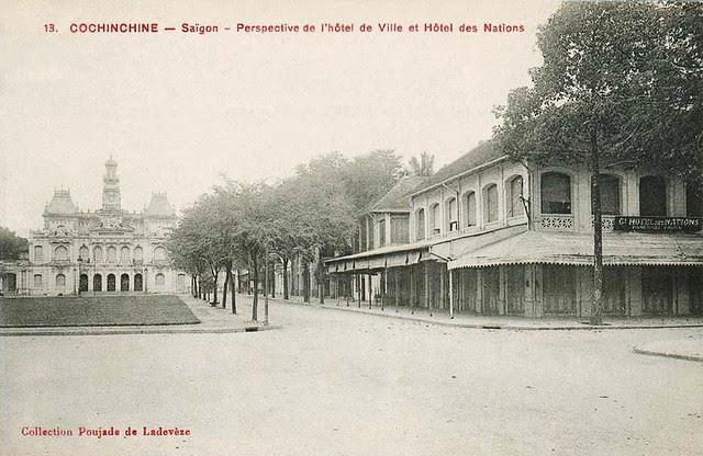 Saigon 1910s - Hôtel de Ville