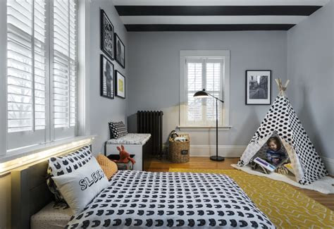 graphic  modern toddler boy room project nursery