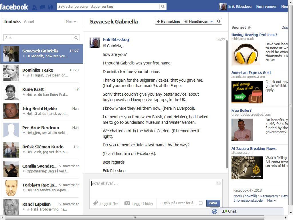 gabriella facebook