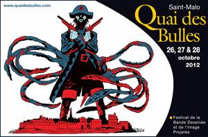 Quai des Bulles, Saint-Malo - 26, 27 et 28 octobre 2012 (+ d'infos)