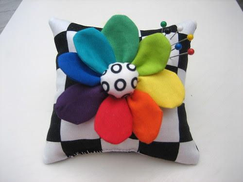 Pincushion Color Wheel