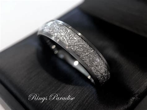 Details about Meteorite Ring Men Meteorite Ring Women