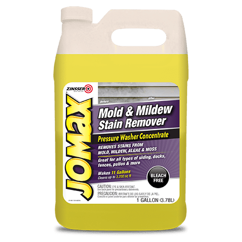 Mold & Mildew Stain Remover Pressure Washer Concentrate Product Page