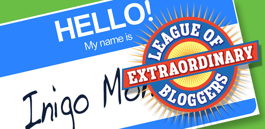 This week's assignment from the League: Hello, my name is…
