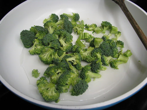 broccoli about to steam