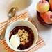 Composta di mele e frutti rossi con crumble di frolla alle nocciole