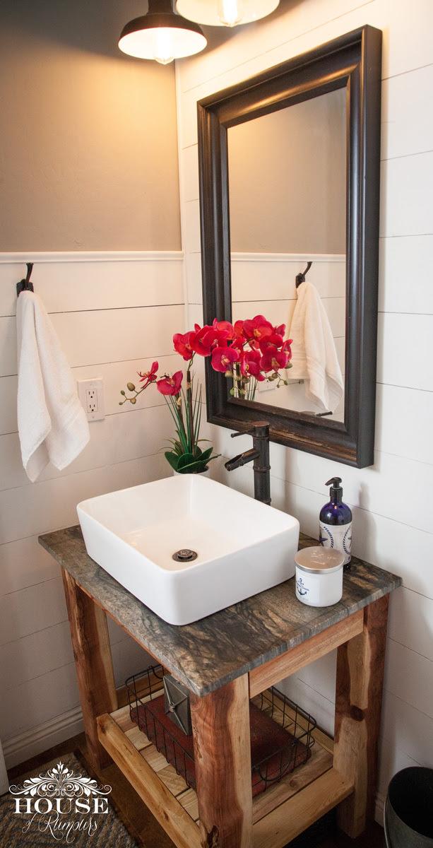 Ana White | Shiplap Bathroom - DIY Vanity - DIY Projects