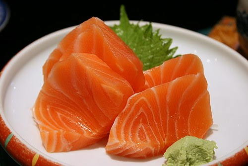 Luscious, beautiful, and thick slabs of salmon