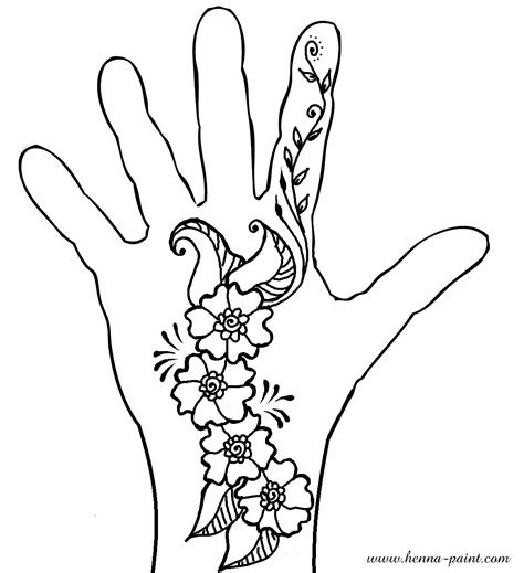 henna drawing images
