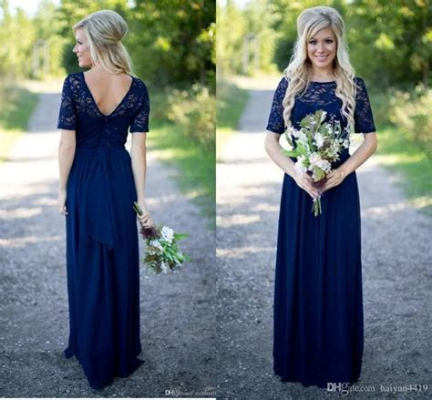Cheap 2017 Country Bridesmaid Dresses Hot Long For