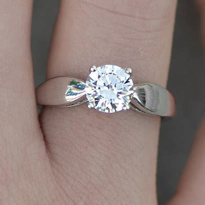 1 Carat Diamond Rings   Brillianteers
