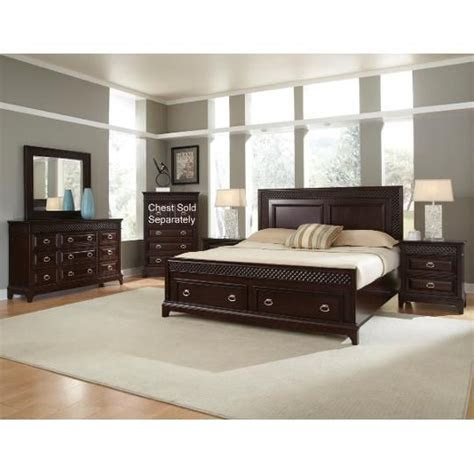 clearance sonoma  piece cal king bedroom set