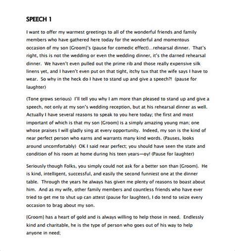 sample graduation speech  documents  word
