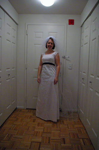 wedding dress muslin