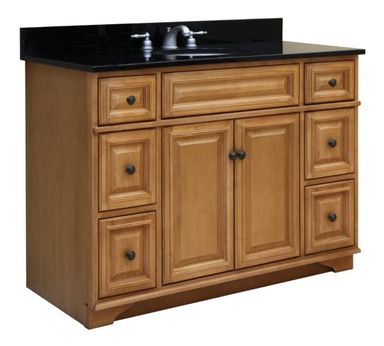 Sunny Wood Bw4821d Briarwood Vanity Cabinet 48 Quot Maple Wood