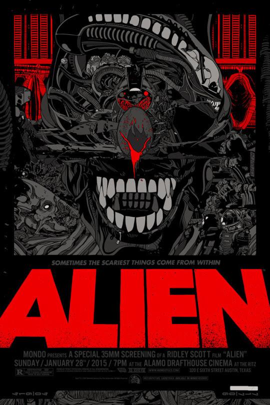 Alien by Tyler Stout - Regular Edition