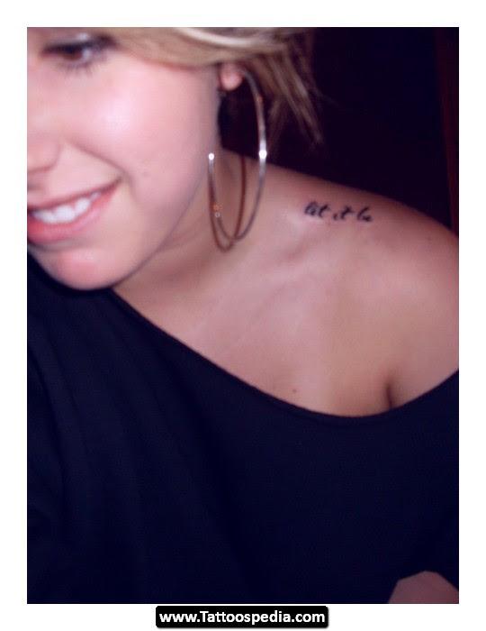 Let It Be Tattoo Design Idea 01 Tattoomagz