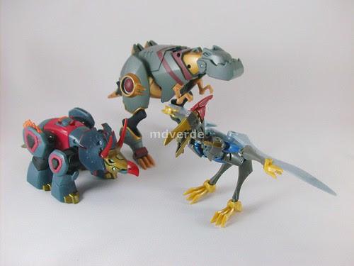Transformers Animated Dinobots - modo alterno