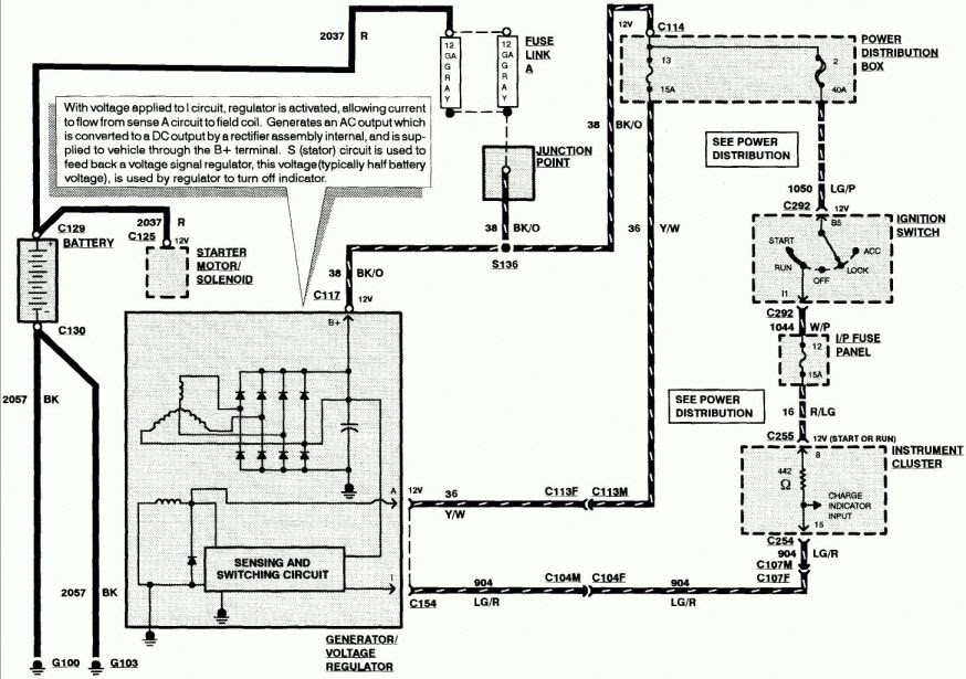 1997 Lincoln Town Car Wiring Diagram