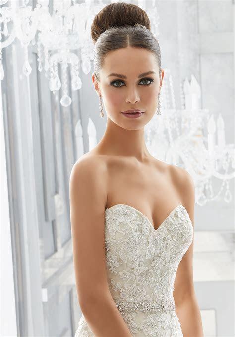 Maura Wedding Dress   Style 5566   Morilee