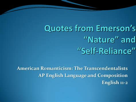 Thoreau Quotes Self Reliance