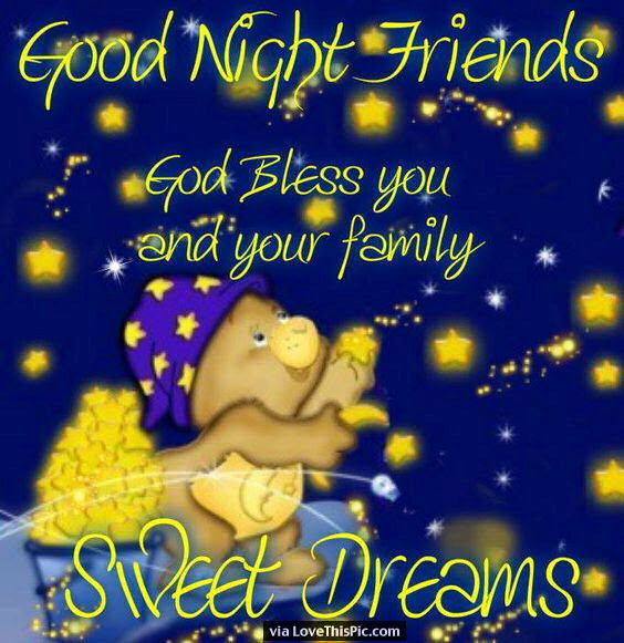 Good Night Friends Sweet Dreams Pictures Photos And Images For