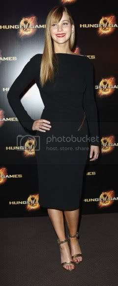 Jennifer Lawrence The Hunger Games Paris Photocall