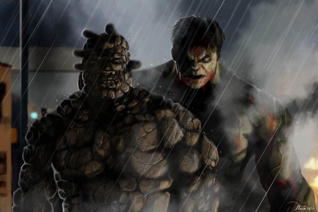 Incredible Hulk vs The Thing