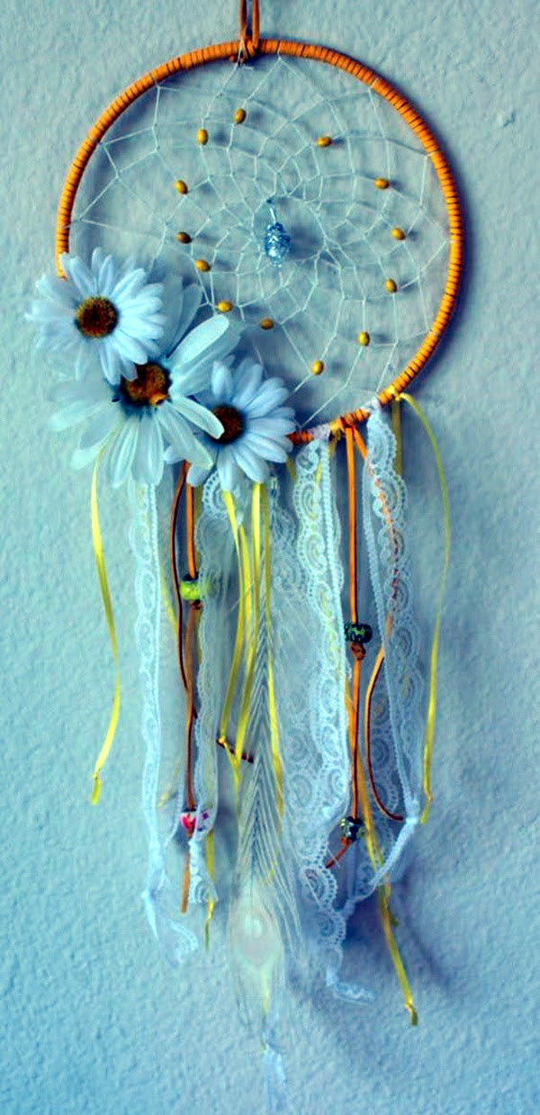 DIY Beautiful and Unique Dream Catcher Ideas (44)