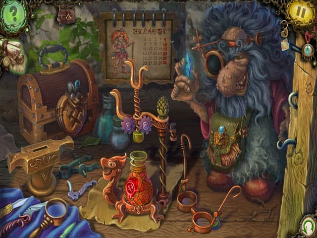 Witch's Pranks: Frog's Fortune Free PC Game Screenshot
