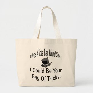 Bag of Trick Tote Bag bag