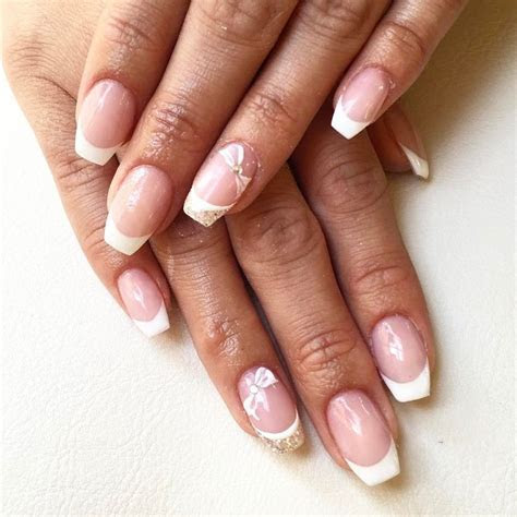 17 Best ideas about Bridal Nail Art on Pinterest   Bridal