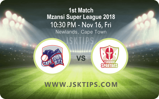 CapTown Vs Tshwames 1st Match Cricket Betting Tips