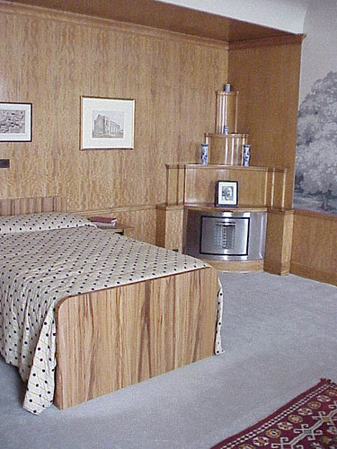 Bedroom, Eltham Palace, London