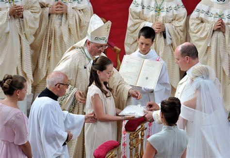Alexandra of Hanover in Monaco Royal Wedding   The