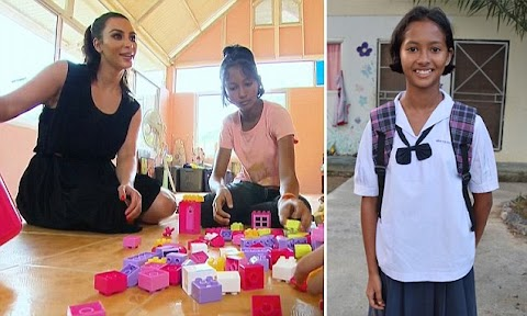 I'd rather stay in poverty in Thailand! The 13-year-old 'orphan girl' Kim was desperate to adopt says NO