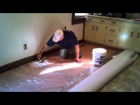 Luan Youtube Videos How To Cut And Install A Vinyl Floor