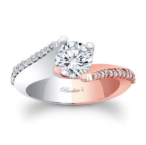 barkevs white rose gold engagement ring lt barkevs