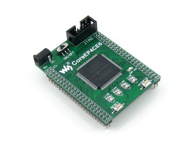 Altera Cyclone III EP3C25 Development Board w// USB Blaster; EP3C25F324 OLED USA
