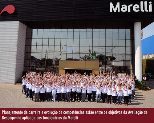 Funcionários da Marelli veem na avaliação de desempenho uma oportunidade de crescimento