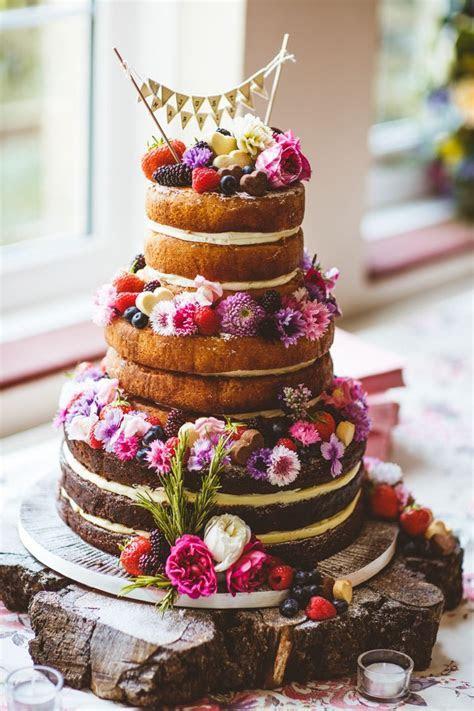 Pretty DIY & Outdoor Village Hall Wedding   wedding cakes