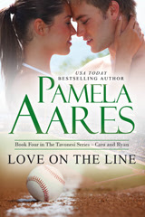 Love on the Line (The Tavonesi Series, #4) by Pamela Aares