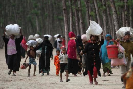 Refugee crises may be caused by any number of reasons but the most common are war (Bangladesh), domestic conflicts (Tibet, Sri Lanka), natural disasters (famine), environmental displacement, human trafficking and—this one will turn up at all our doorsteps soon—climate change. Photo: AFP