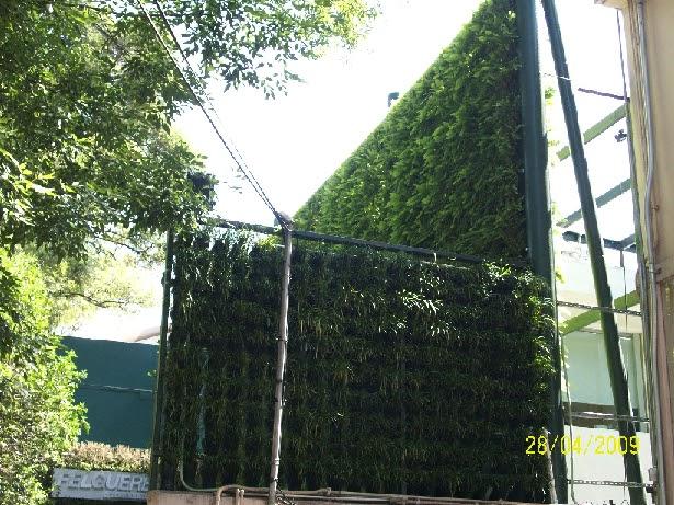 Dormitorio muebles modernos como hacer un muro verde en casa - Como hacer un muro verde ...